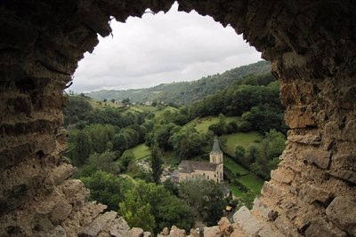 Belcastel, a Plus Beau Village in the Aveyron