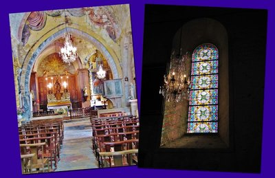 Eglise St. Martin-d'Ansouis interior