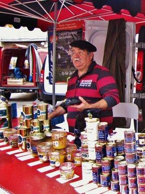 Market vendor in Saint-Remy-de-Provence