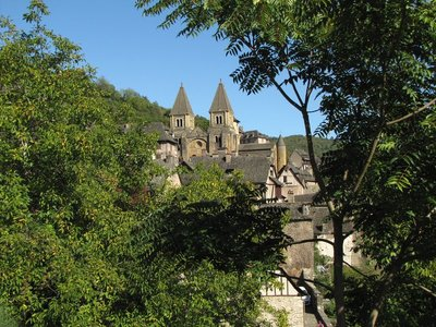 Conques, a Plus Beau Village and on the Pilgrimage Route<br />to Compostela