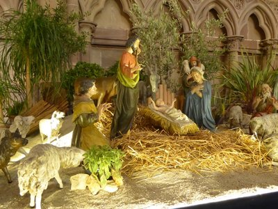 Nativity from the Tableau at the Strasbourg Cathedral