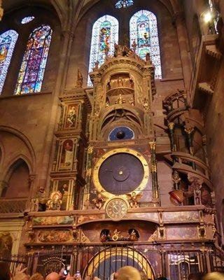 Astronomical clock at the Strasbourg Cathedral