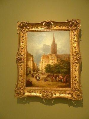 George Jones, View de la Place Gutenberg