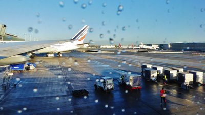CDG - Waiting for take-off