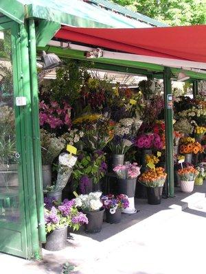 Flower Shop in Paris - takes credit cards