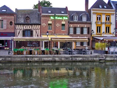 Quai Belu on the Somme River in Amiens