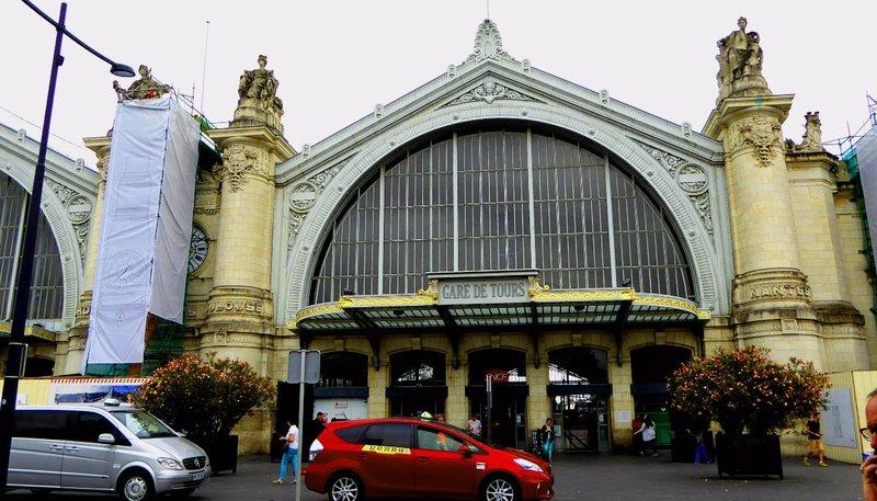 Gare de Tours, the downtown train station