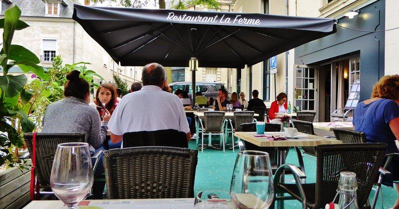 La Ferme Restaurant in Angers