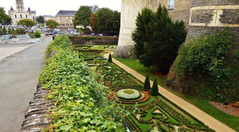 Château d'Angers Gardens