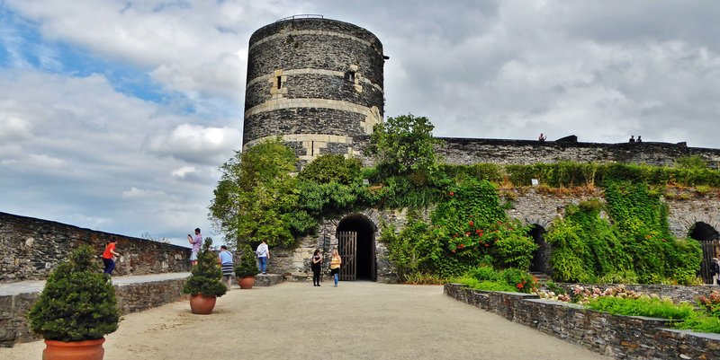 Tower at the Château d'Angers