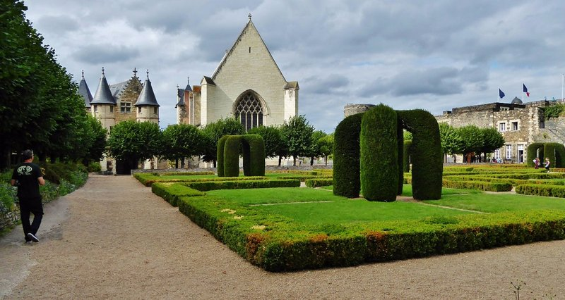 Château d'Angers Chapel and Gardens