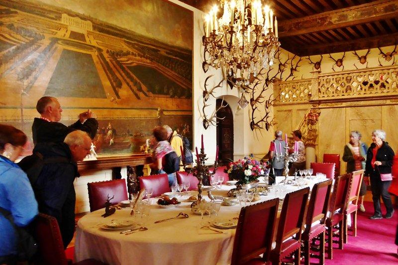 Château Brissac Dining Room