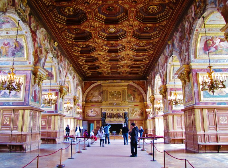 Francis I Gallery at Château de Fontainebleau