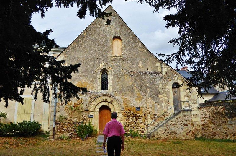 Priory at St. Rémy-la-Varenne, the Chapter House