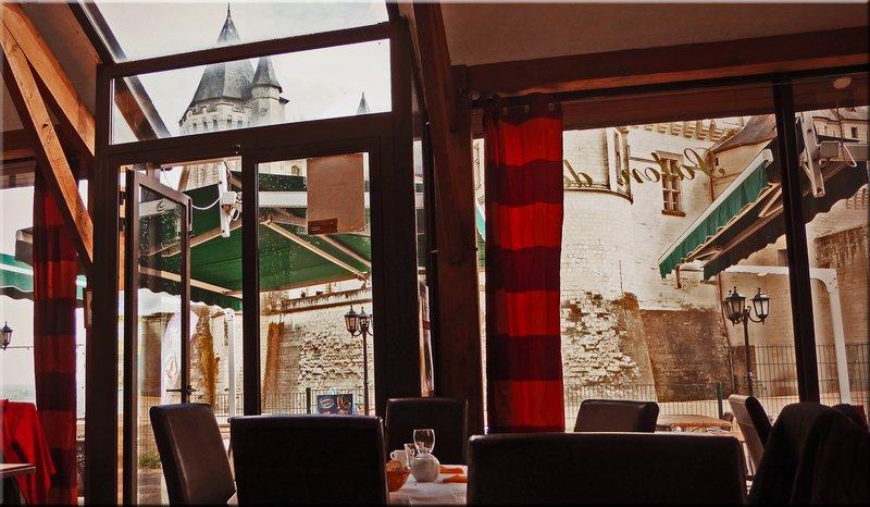 Orangerie Restaurant at Château de Saumur