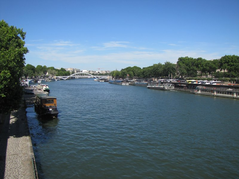 The Seine by the Eiffel Tower