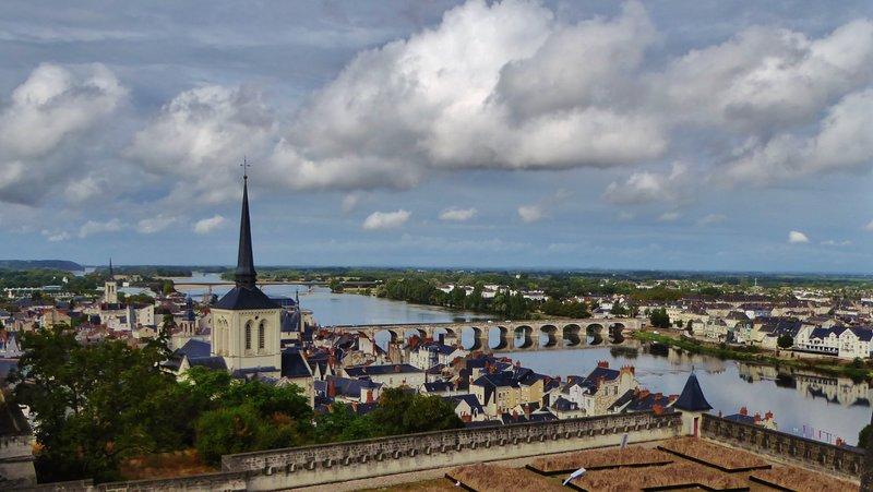 View from Château de Saumur