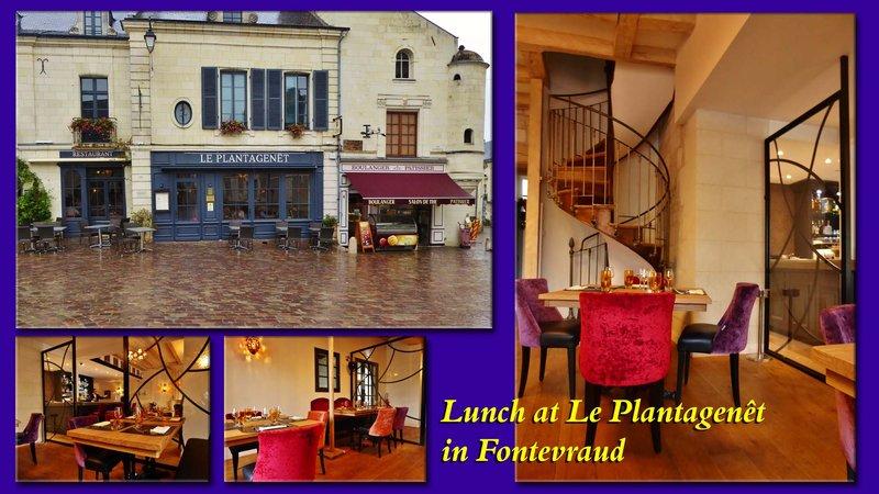 Le Plantagenêt Restaurant in Fontevraud