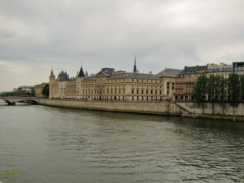 The Conciergerie across the Seine