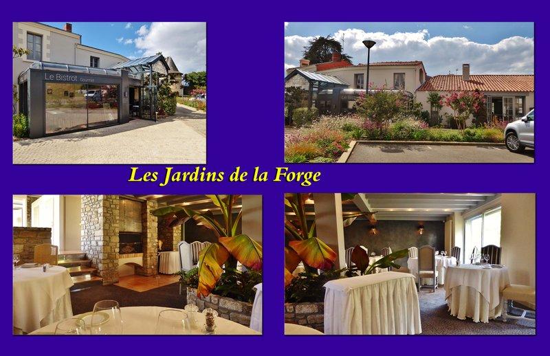 Les Jardins du Forge, Champtoceaux - Lunch