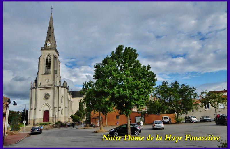 Eglise Notre Dame in La Haie-Fouassière (also called La Haye-Fouassière)