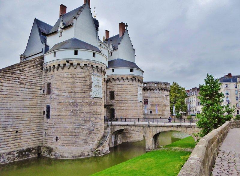 Château des ducs de Bretagne in Nantes