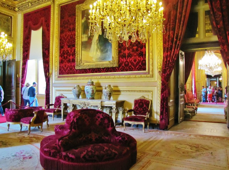 Napoleon III Apartments in the Louvre