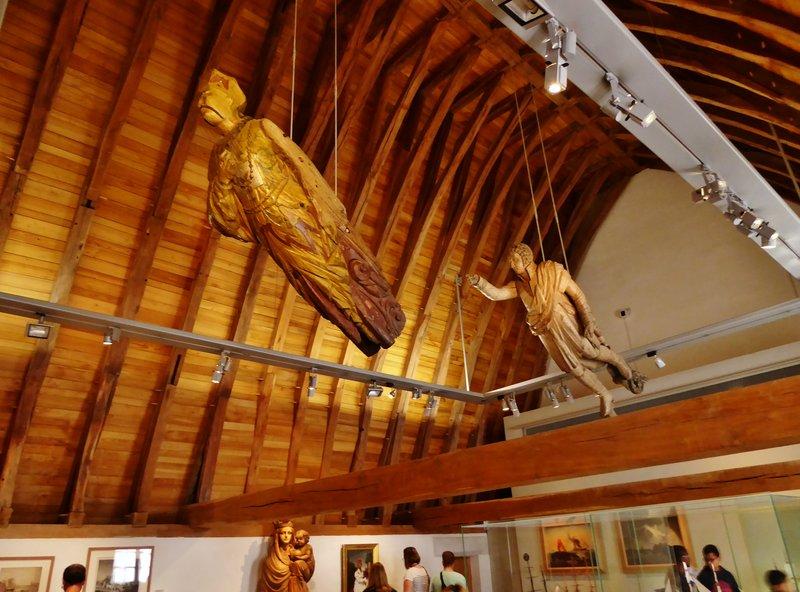 Museum inside the Château des ducs de Bretagne