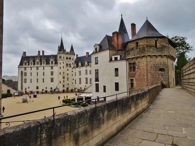 Château des ducs de Bretagne from the ramparts