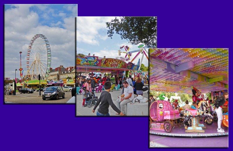 Carnival or Fun Fair at Place Maréchal Foch