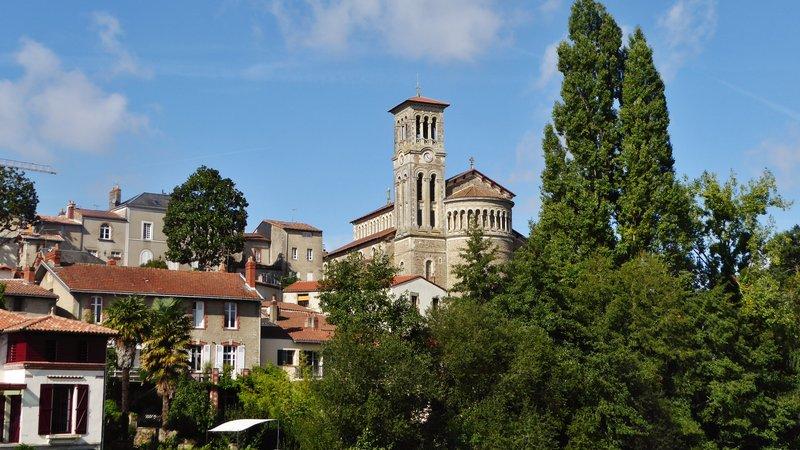 Eglise de la Trinité from the Pont de la Vallée