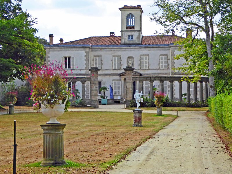 Italian Villa at Domaine de la Garenne Lemot