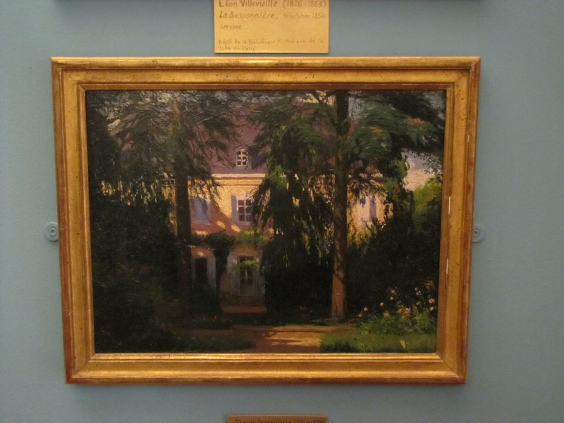 Painting of Maison George Sand in Nohant
