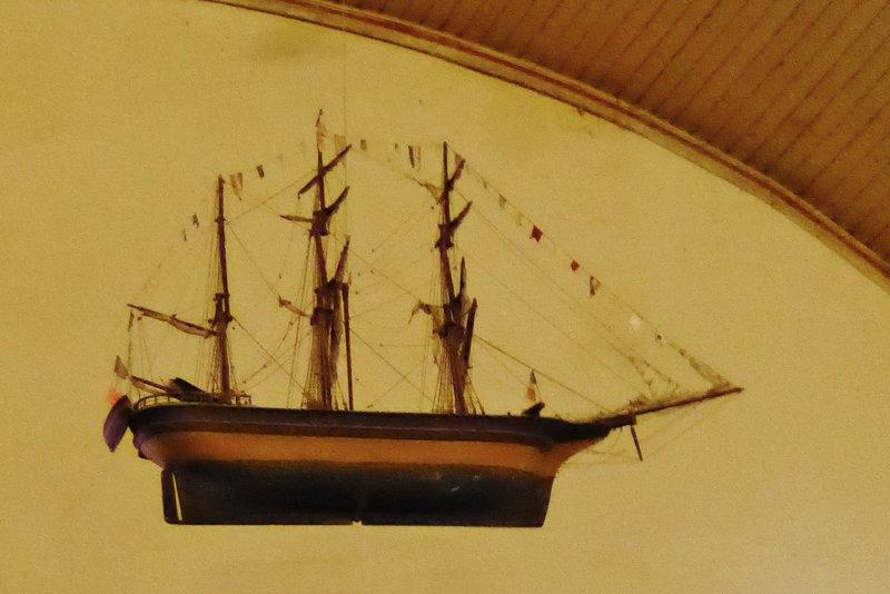 Ship in Eglise St. Pierre, Moutiers-en-Retz