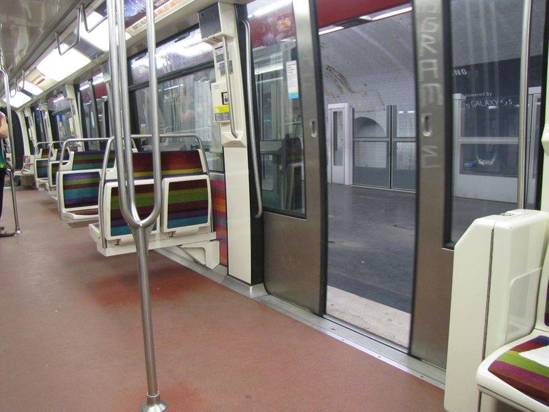 Vincennes stop of Paris Metro line #1