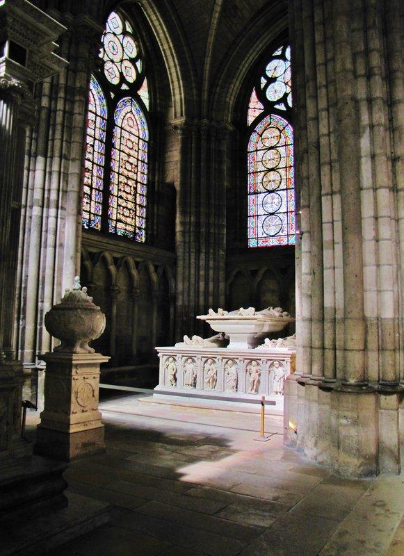 Interior of Basilique Cathédrale de Saint-Denis