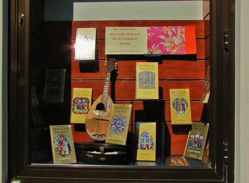 Shop window on rue Bonaparte