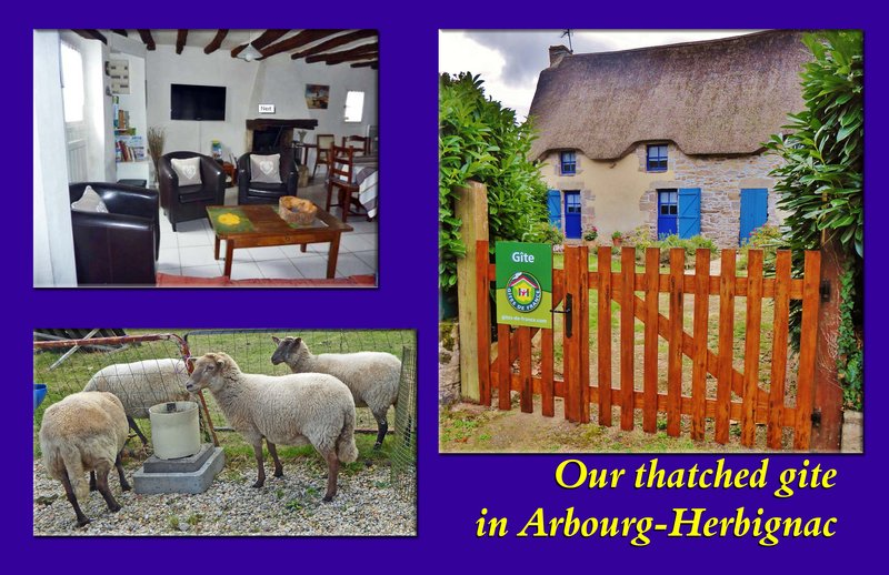 Our thatched gite in Arbourg-Herbignac