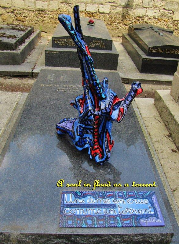 Montparnasse Cemetery in Paris