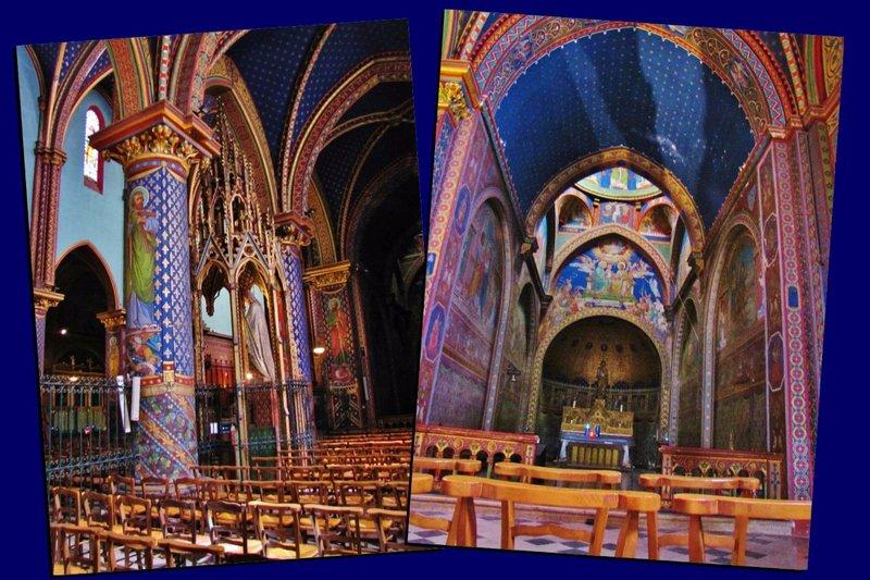 Interior Basilique St. Michel-de-Frigolet