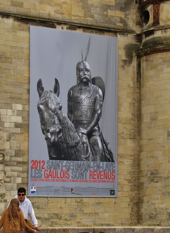 Poster at Château de Saint-Germain-en-Laye