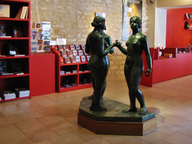 Bookstore in the Maillol Museum in Paris