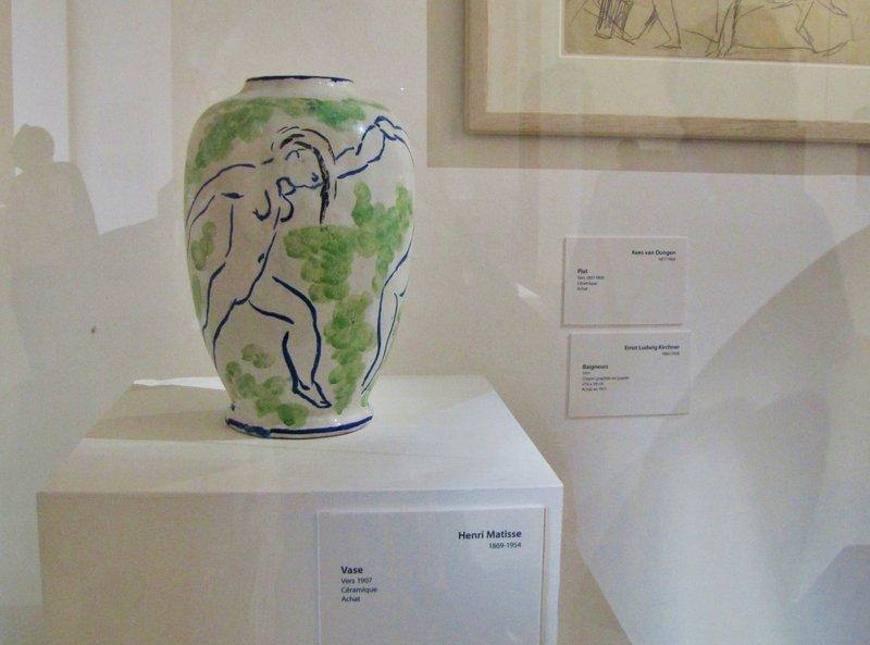 Vase by Henri Matisse in the Museum of Modern Art in Paris