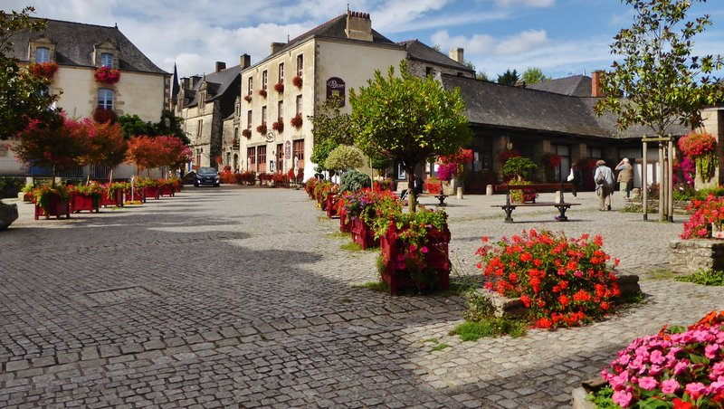 Rochefort-en-Terre, a Plus Beau Village in Brittany