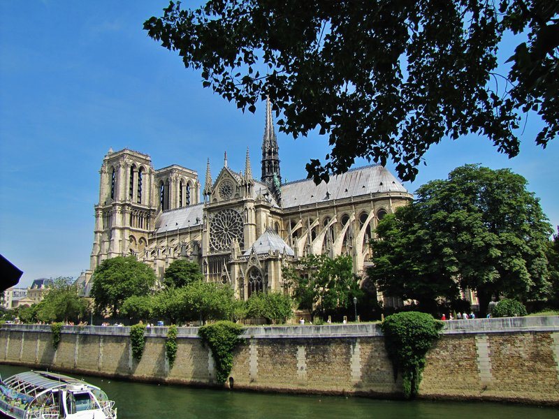 Notre Dame from the Quai de Montebello