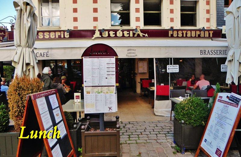 Lutetia Restaurant & Brasserie in Honfleur