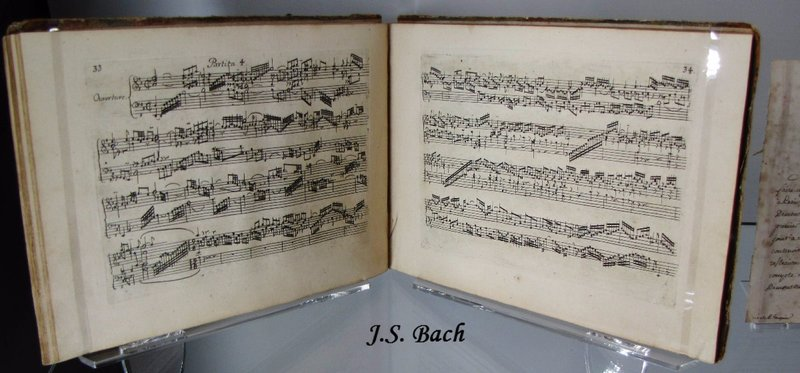 Bach at the Museum of Letters and Manuscripts