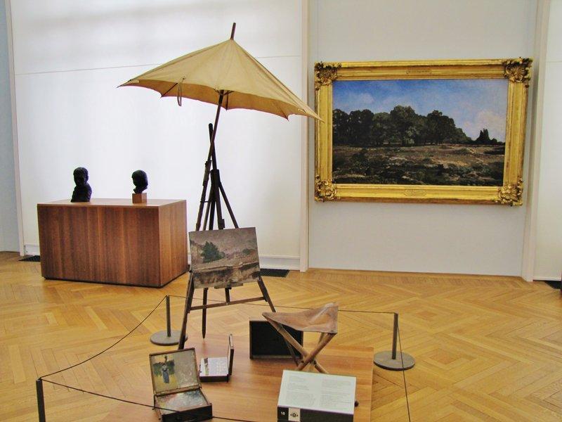 Part of the Monet exhibit in the Petit Palais