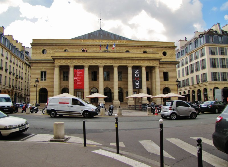 The famous Odeon Theater in Paris