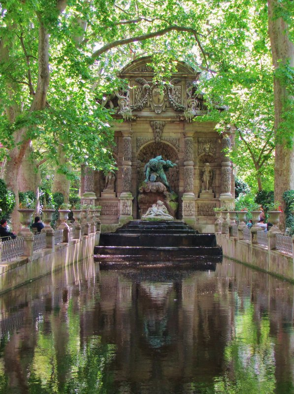 Medici Fountain in the Luxembourg Gardens